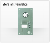 Telefonillo, videoportero y portero: Sistemas de comunicación 2 hilos de Bticino.  Videoportero  Sfera antivandálica
