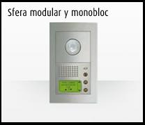 Telefonillo, videoportero y portero: Sistemas de comunicación 2 hilos de Bticino. Videoportero Sfera modular y monobloc