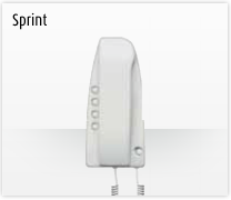 Telefonillo, videoportero y portero: Sistemas de comunicación 2 hilos de Bticino. Telefonillo Sprint