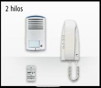 Telefonillo, videoportero y portero. Kit analógico 2 hilos